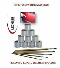 KIT RITOCCO AUTO 50 GR LECHLER FIAT FREEMONT MULTIPLA UNO N 081/A ROSSO SEGNALE