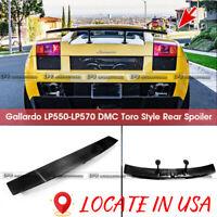 For Lamborghini Gallardo LP550-LP570 DM Style Carbon Rear Trunk Spoiler Wing Lip
