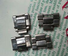 4 ROLEX VINTAGE parts  links BRACELET RIVETED FOLDED  7205/7835/6635  genuine