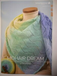 Schachenmayr Booklet Mohair Dream 3 Anleitungen NEU Stricken