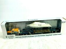 New JJ Keller 1:64 Peterbilt 379 Sleeper Cab Semi Truck Trailer Boat Ertl 942-PP