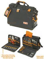 BAHCO Hard Rubber Base Technicians/Electricians Tool Storage Case Bag,4750FB4-18