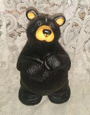 """Bearfoots Bears Big Sky Carvers Jeff Fleming Montana Black Bear """"Bubba"""""""