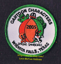 LMH Patch  2005 GOOD SAM CLUB SAMBOREE  Wichita Falls TX  CARTOON CHARACTERS