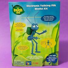RARE Vintage Disney Pixar A Bug's Life Electronic Talking FLIK Model Kit NRFB