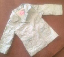 Zara Baby 12-18 Months Lined Jacket Coat Cute Green/blue Girls