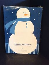 Holiday Portfolio By Hallmark Snowman