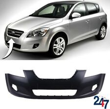FRONT BUMPER WITH FOG LIGHT HOLES COMPATIBLE WITH KIA CEED 2006-2009 5 DOOR