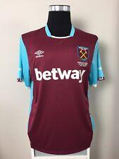 West Ham United Home Football Shirt Jersey 2016/17 (XL)