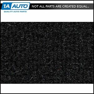 for 1989-97 Geo Tracker 2 Door Cutpile 801-Black Cargo Area Carpet