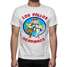T-SHIRT UOMO BREAKING BAD LOS POLLOS HERMANOS  HAPPINESS
