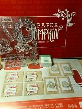 Stampin Up Paper Pumpkin Joy to the World October 2020 NEW FULL KIT Christmas
