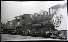 WESTERN PACIFIC RAILROAD~ENGINE # 154  SMOKING !