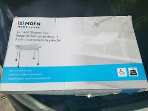 Moen Tub and Shower Seat White Brand New