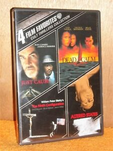 4 Film Favorites: Cult Thrillers Collection (DVD, 2011, 2-Disc Set) Sean Connery