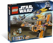 *BRAND NEW* LEGO Star Wars Anakin Skywalker and Sebulba's Podracers 7962