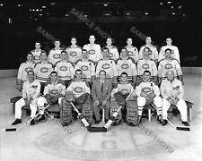 1948 MONTREAL CANADIENS 8X10 TEAM PHOTO