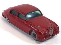 Lesney Matchbox No 65 Jaguar 3.4 Litre Red Vintage England 049EA