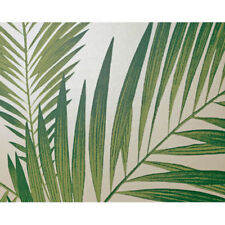 Palm Trees Wallpaper Tropical Jungle Luxury Weight White & Green Leaves Arthouse