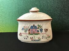 Vintage Napkin Holder Jamestown China Country Home Made in Japan c. 1960s-70s