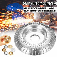 Tungsten Carbide Wood Sanding Carving Shaping Disc Angle Grinding Wheel Tools &