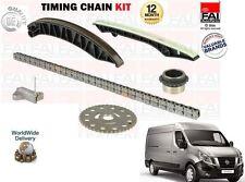 für Nissan NV400 2.3 dCi Bus Van 2011 > Neue STEUERKETTENSATZ + Getriebe