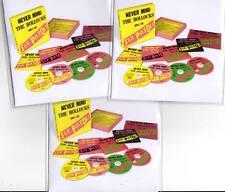 Sex Pistols 2017 PROMO 3x CD REISSUE Never Mind The Bollocks 40th ANNIVERSARY ED