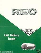 Truck Brochure - REO - D DF E series - Fuel Delivery Tanker (TB830)