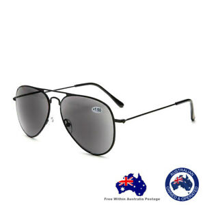 Mens Ladies Magnifying Trendy Fashion Tinted Reading Sunglasses Glasses 8003