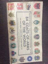 1984 Coats Of Arms Of The World Stamps