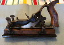 New ListingSiegley Patent Aug.19.90 Combination Plow Plane Wood Fence Woodworking Tool Rare