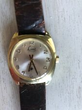 VINTAGE LIMIT OF SWITZERLAND ANTIMAGNETIC INCABLOC GOLD PLATED GENT'S WATCH