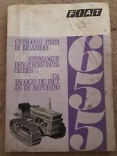 FIAT 655 CRAWLER TRACTOR PARTS CATALOGUE