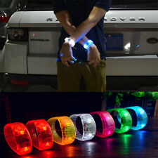 LED Flash Bracelet Bangle Wristband Voice Activated Sound Control For Party Club