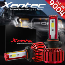 XENTEC LED HID Headlight kit 9004 HB1 6000K for Nissan Maxima 1985-1999