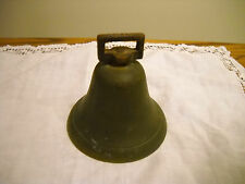 COLONIAL 1800-1900  SOLID BRASS STRAP GOAT COW  BELL