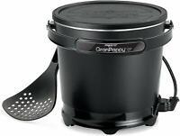 NEW Presto 05411 GranPappy Electric Deep Fryer Bucket-style w Nonstick Finish US