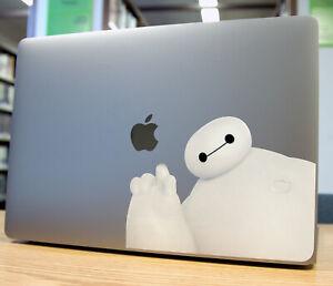 "BayMax Big Hero 6 MacBook Sticker Decal Air/Pro13""15""17-ALL MODEL 2006-Current"