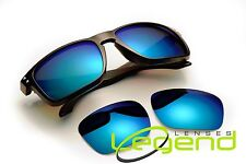 A71 Ice Blue POLARIZED replacement Legend Lenses For Oakley HOLBROOK