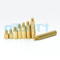 5pcs M6 Thread Spacers Male x Female Hexagonal Brass PCB Standoffs Spacers