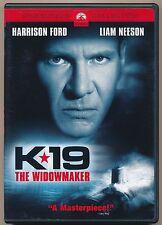 K*19 The Widowmaker DVD / Widescreen Region 1 (US & Canada)