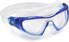 Aqua Sphere Vista Pro Unisex Open Water Swimming Mask - Clear Lens - Adult