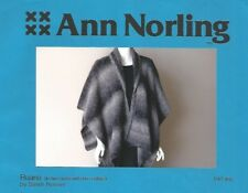 Ruana Wrap Cape Shawl Knitting Instruction Short or Long Pattern Ann Norling #65