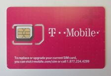 Lot Of 100 Brand New T-Mobile 4G Lte Triple Sim Card 3 In 1