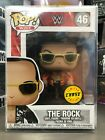 Funko Pop WWE: THE ROCK Chase Limited Edition #46 Figure w/ Protector