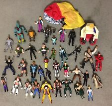 Lot 80s/90s Action Figures Power Rangers Sectaurs Ghostbusters Thundercats