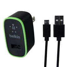 Belkin 2.1 Amp 4ft Universal Micro USB Home Charger and Cable Black