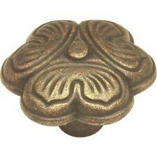 "Belwith Pa0911-Woa Rustic Antique 1-1/4"" Diam. Cabinet Knob - Pk 4"