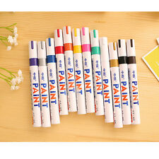 12pcs Permanent Paint Drawing Pen Car Tyre Metal Outdoor Marking Ink Marker New
