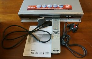Sony RDR-HXD710 DVD Recorder complete with Remote & Manual & Scart lead